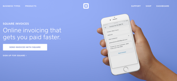 Online Invoicing Solutions For Business Owners HuffPost - Send invoice using square