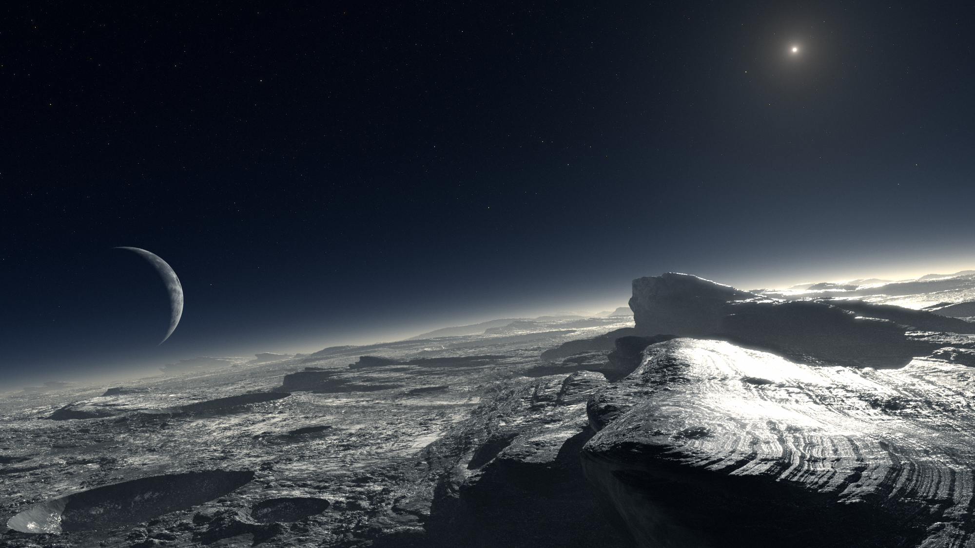 The Pluto Encounter A View From Afar Huffpost