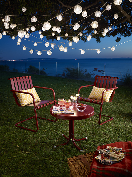 3 Easy Outdoor Lighting Ideas Huffpost Life