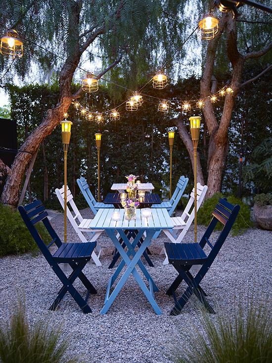 Easy Outdoor Lighting Ideas Huffpost