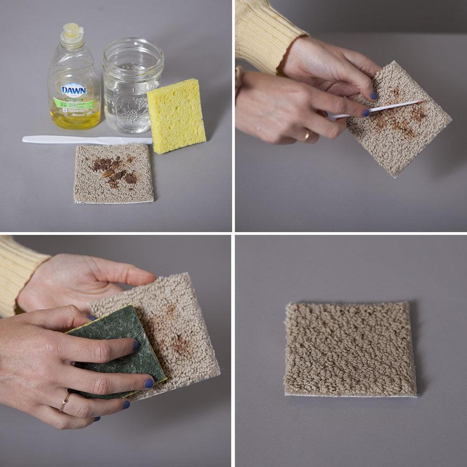 Como limpiar una alfombra finest como limpiar una - Productos para limpiar alfombras ...