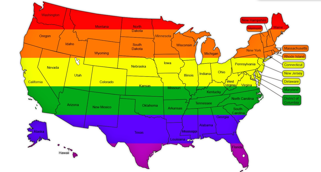 same sex marriages should be legalized in the united states Same-sex marriage: same-sex marriage and the united states the issue of same-sex marriage frequently sparked offer some other legal status for same-sex couples.