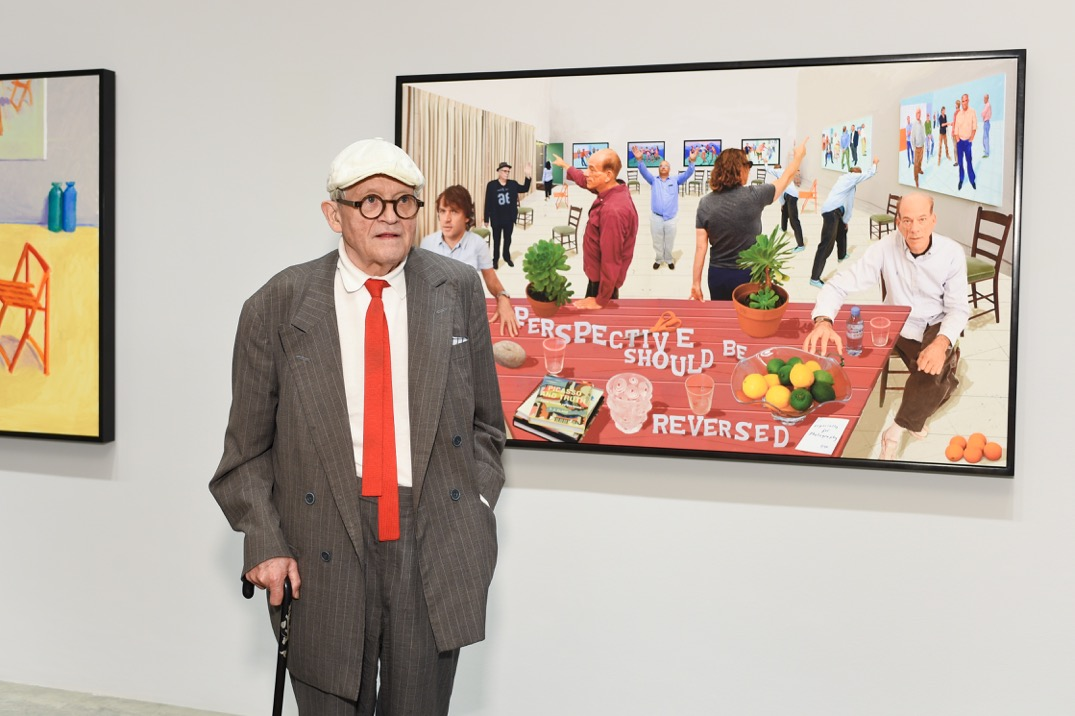 David hockney interview review of painting and for David hockney venezia