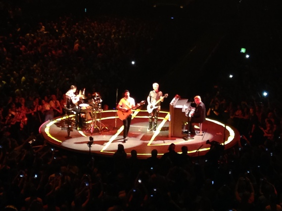 2015 07 25 1437793398 1092639 img_4604jpg 2009 was the last time u2 performed inside madison square garden the performance - U2 At Madison Square Garden
