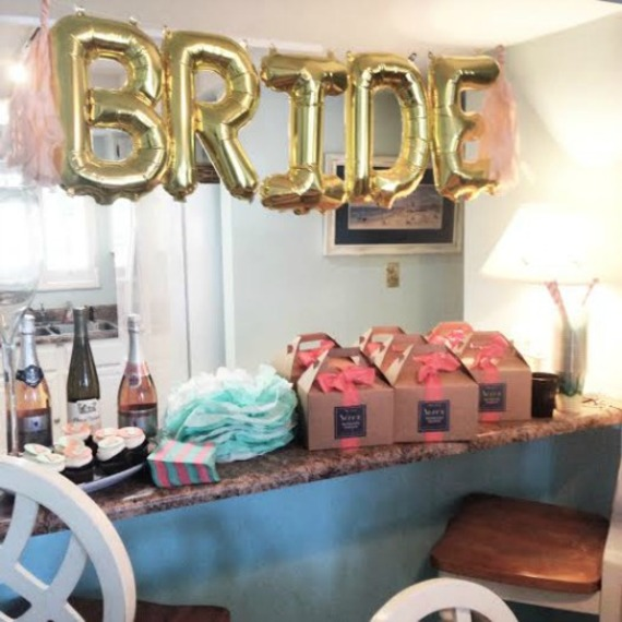 What 39 s trending for bachelorette parties this summer for Hotel decor items