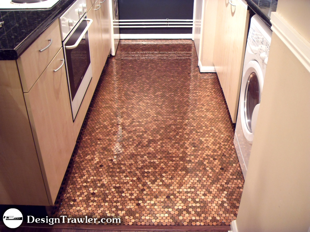 See a penny pick it up and make one of these 19 epic - Floor made out of pennies ...