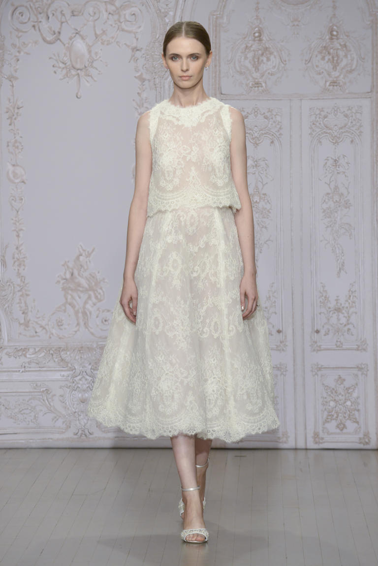 10 Two Piece Wedding Looks For Brides Who Want To Push The Envelope