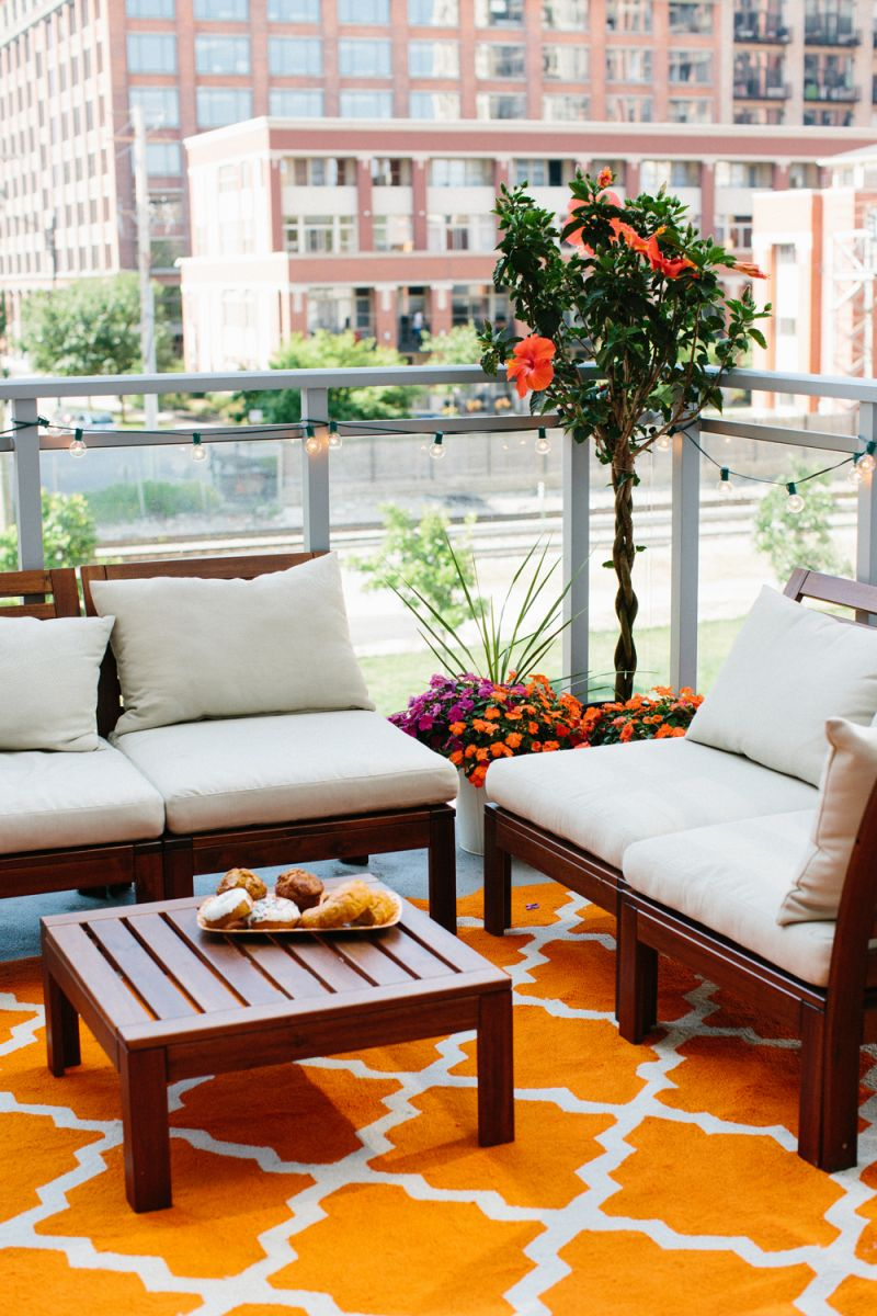 Small Apartment Balcony Garden Ideas: 5 Ways To Decorate Your Seriously Small Apartment Balcony