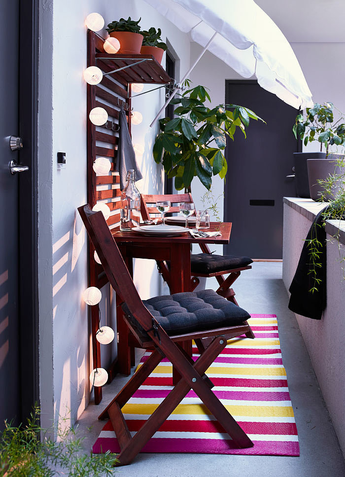 5 ways to decorate your seriously small apartment balcony - How to decorate a balcony ...