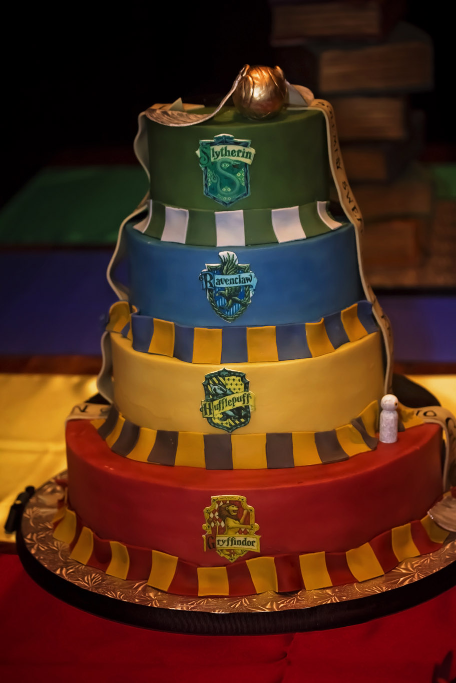 Harry Potter Inspired Wedding Cakes