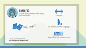 Menopause Infographic: Brain Fog | HuffPost