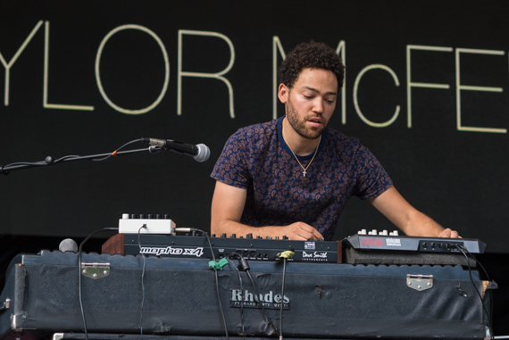 Taylor McFerrin. Photo by DeShaun Craddock.