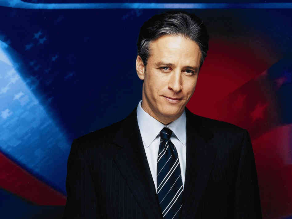 Jon Stewart earned a  million dollar salary, leaving the net worth at 80 million in 2017