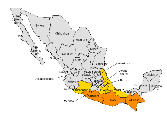 On the Margins Why Mexicos Southern States Have Fallen Behind