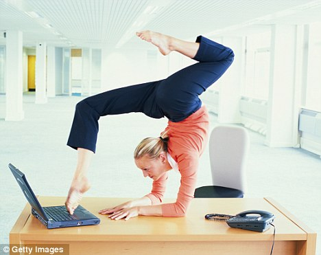 8 exercises you can do at work without anyone knowing | huffpost