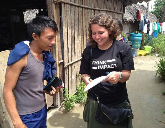 Renee Zale, Panama Program Coordinator at ThinkImpact