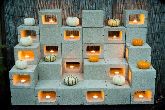 Cinder blocks are a diyer 39 s best friend and these - Concrete block painting ideas ...