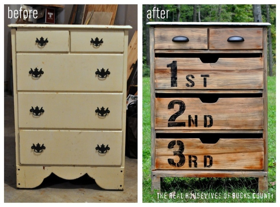 3 diy furniture makeovers that will make you believe in. Black Bedroom Furniture Sets. Home Design Ideas