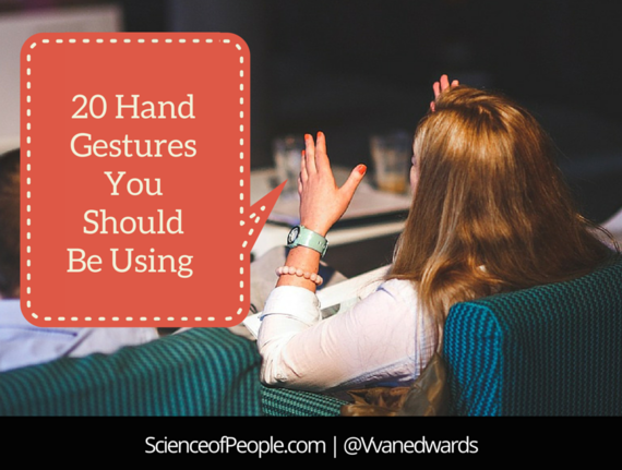 20 Hand Gestures You Should Be Using