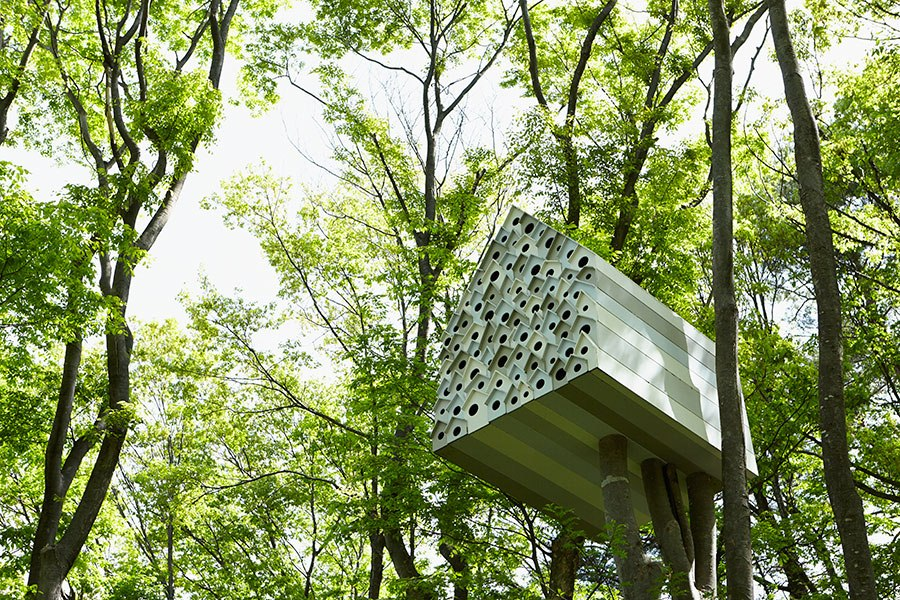 Unbelievable Japanese Tree Houses Huffpost