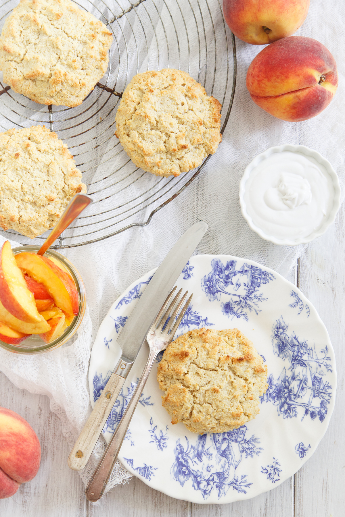 Perfectly Paleo Peach Shortcake | HuffPost