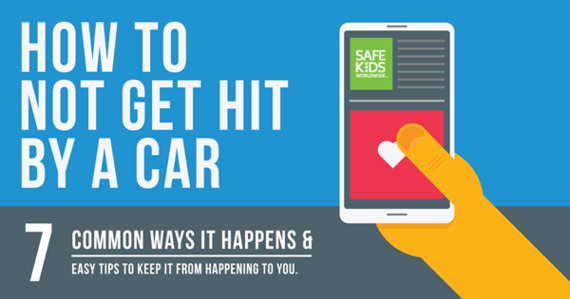 Infographic: How not to get hit by a car