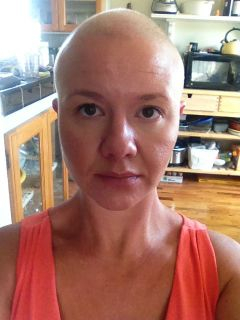 My wife shaved her head