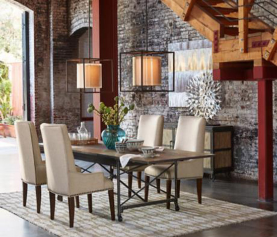 30 Ways To Create A Trendy Industrial Dining Room: Popular Style - Industrial Chic