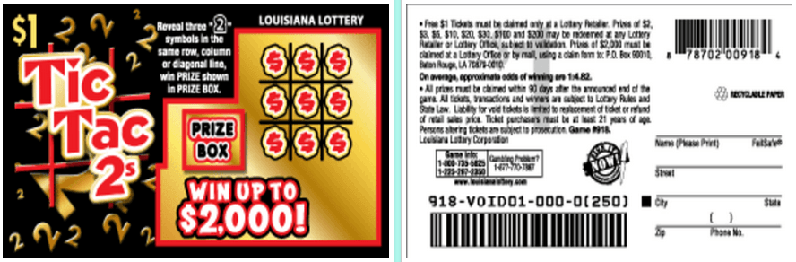 Lottery ticket gambling problems