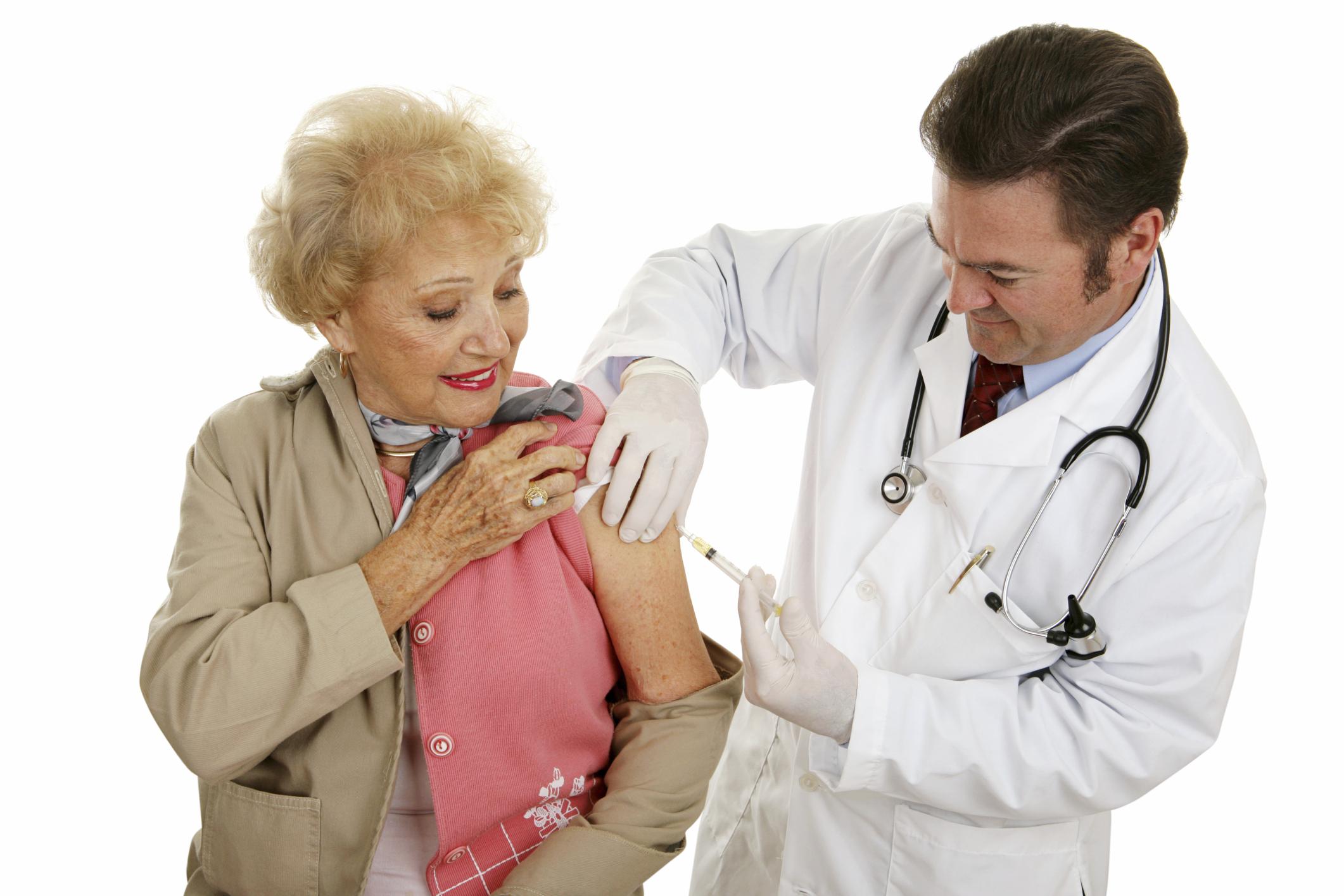 cdc flu vaccine and steroids