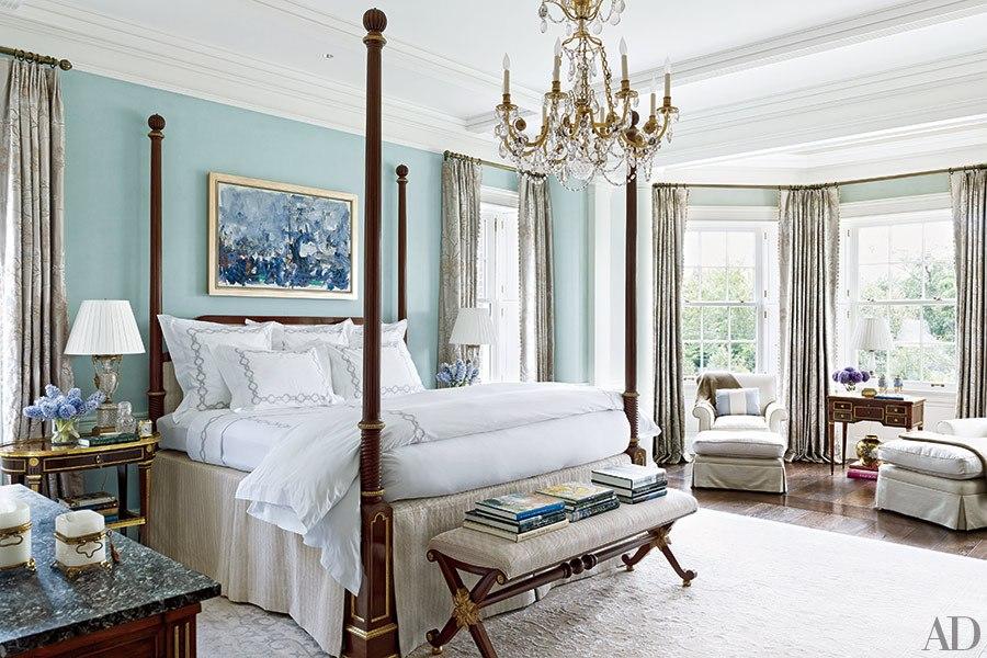 beautiful blue bedrooms | huffpost