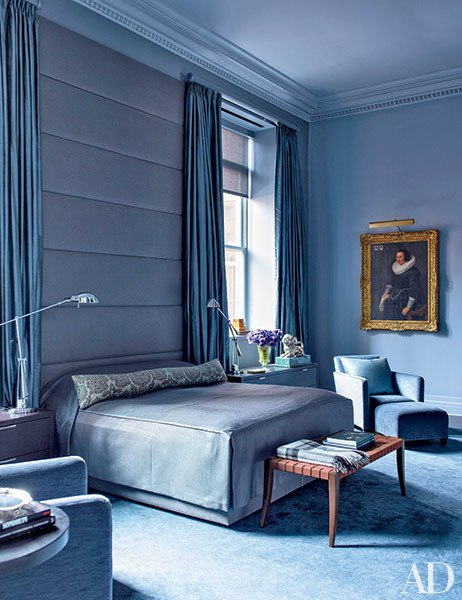 Blue Bedrooms beautiful blue bedrooms | huffpost