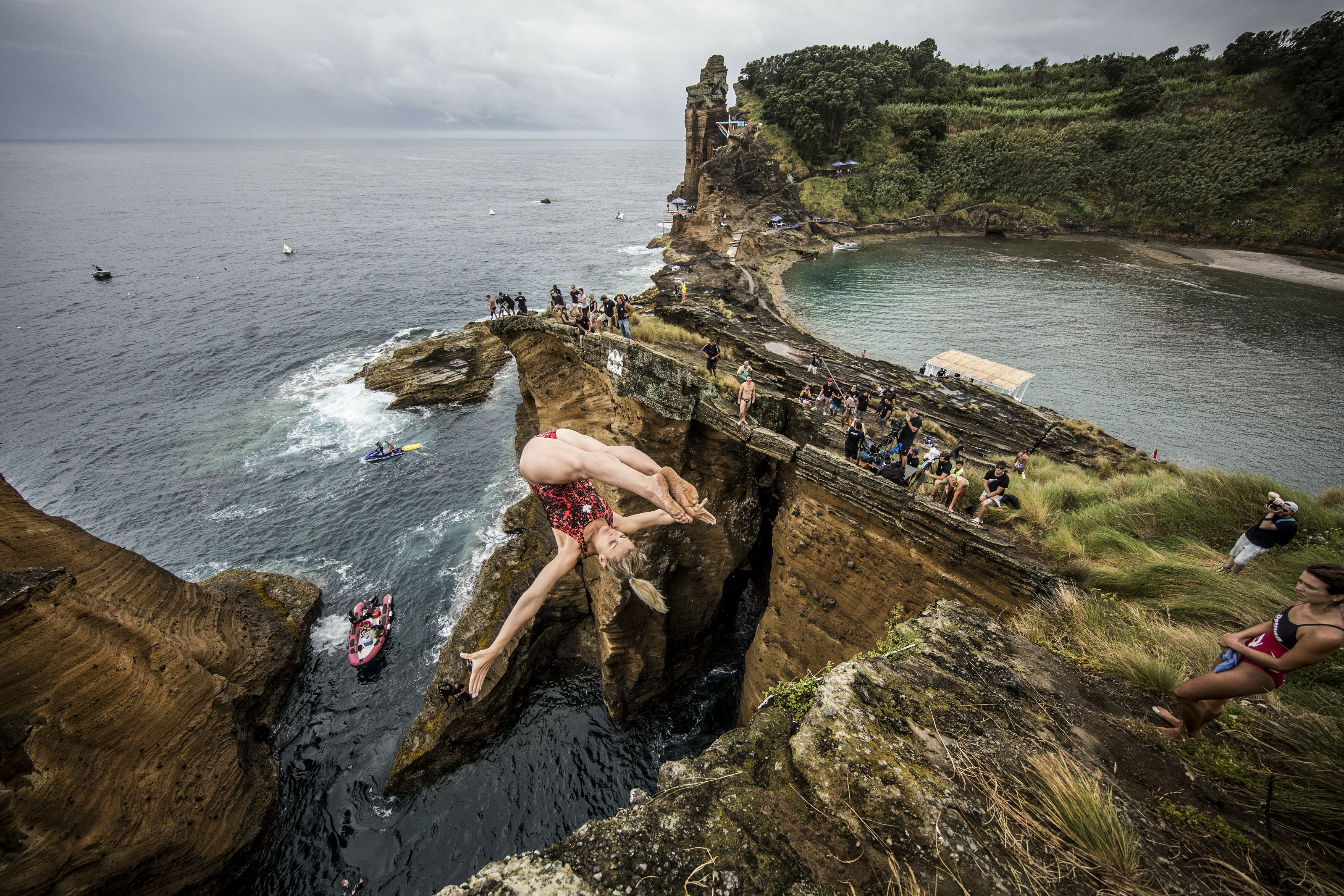 Cliff-Diving From Bosnia-Herzegovina To Polignano, Italia: Women's Championship This Weekend
