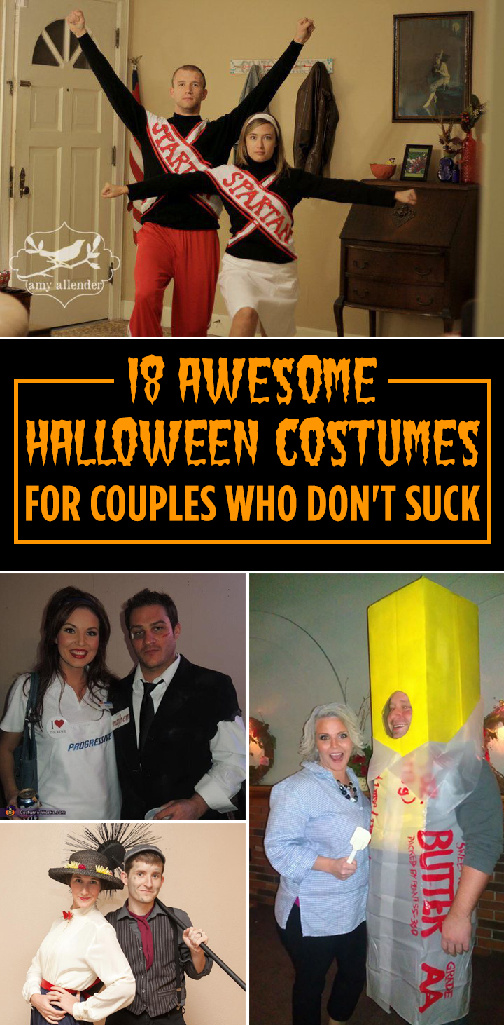 18 Awesome Halloween Costumes For Couples Who Don't Totally Suck ...