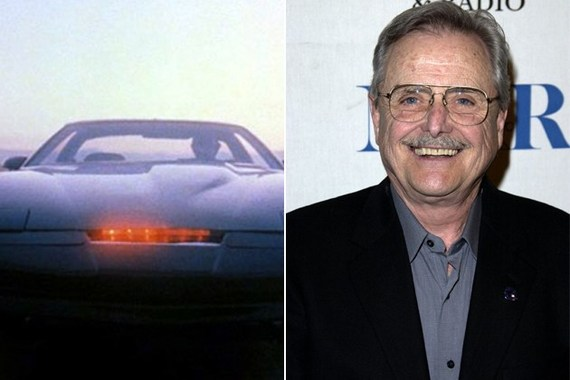 Two-time Emmy Award-Winner William Daniels is the voice behind KITT