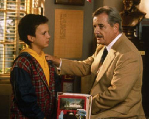 Two-time Emmy Award-Winner William Daniels as principal in Boy Meets World