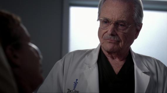 Two-time Emmy Award-Winner William Daniels as Dr. Craig Thomas in Grey's Anatomy
