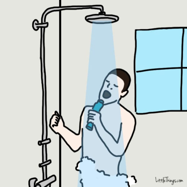what your shower habits say about you huffpost life. Black Bedroom Furniture Sets. Home Design Ideas