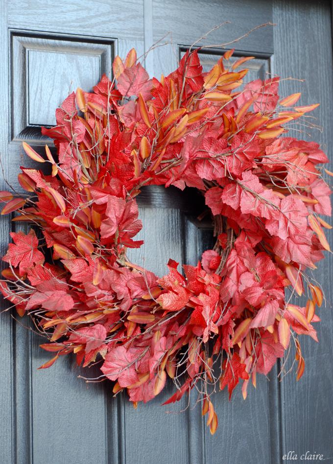 13 Diy Fall Wreaths For Your Front Door