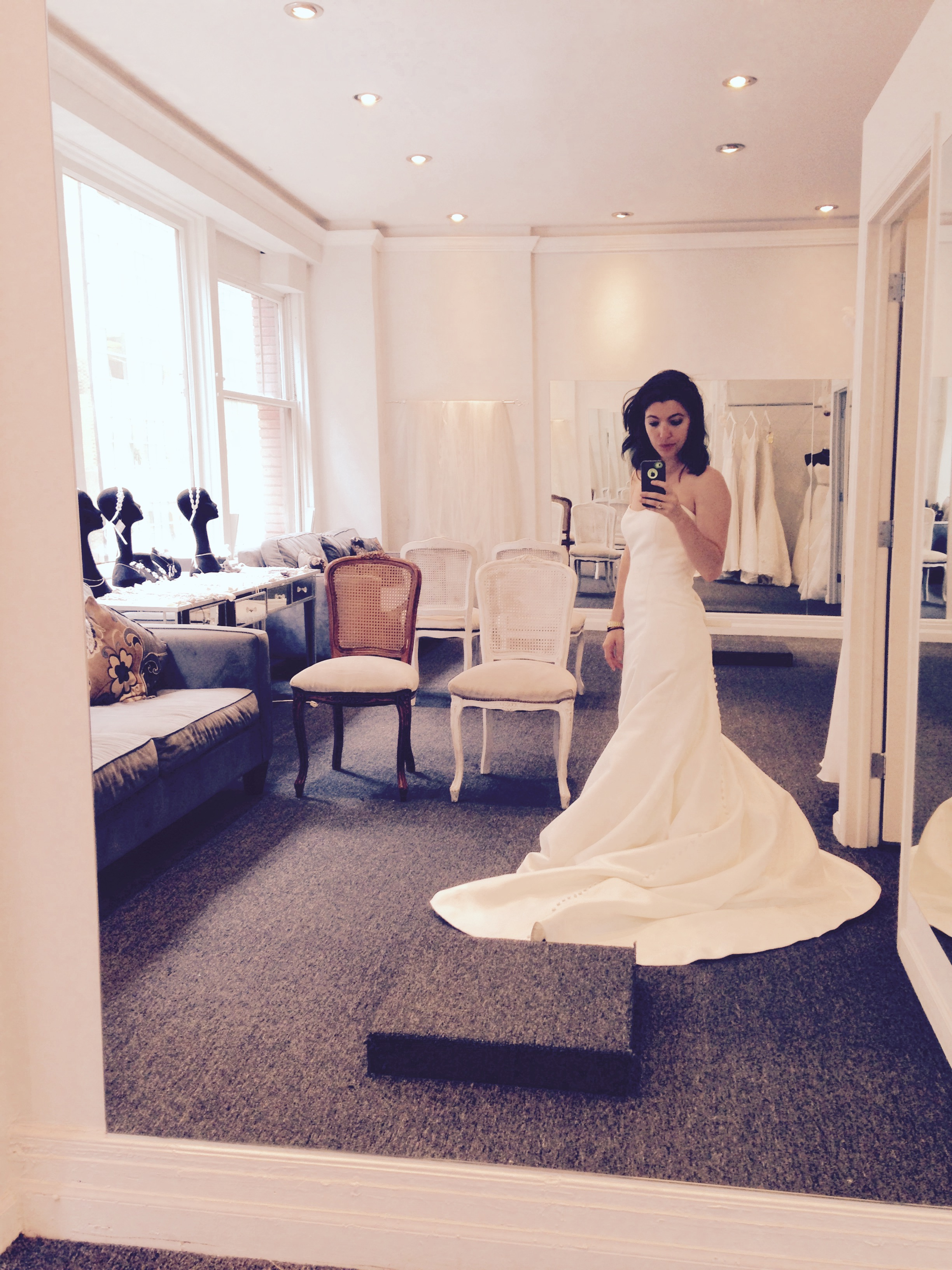 I Went Wedding Dress Shopping Alone in Manhattan and Here's What I ...