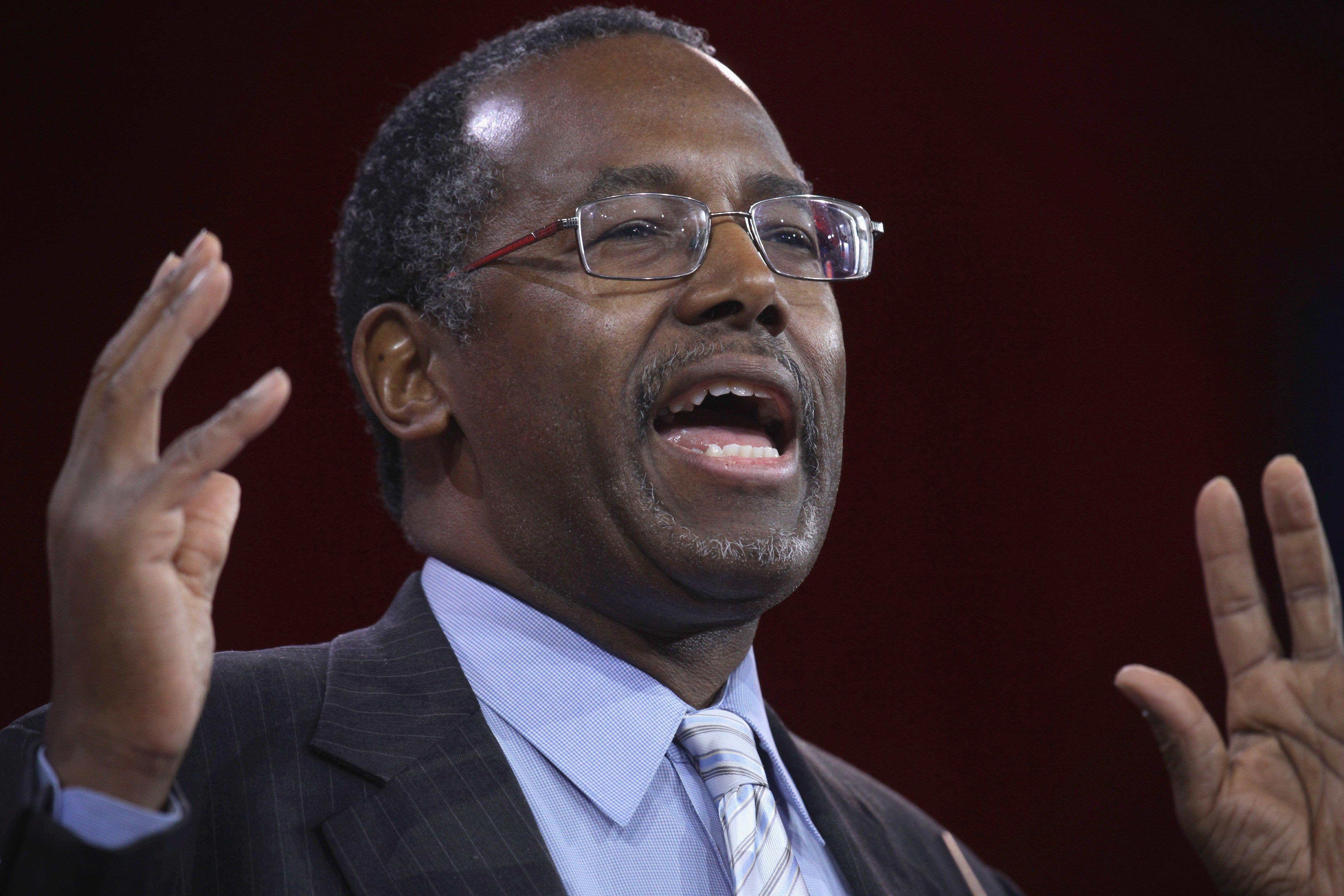 Carson's Far Right Christian Attack on the Constitution