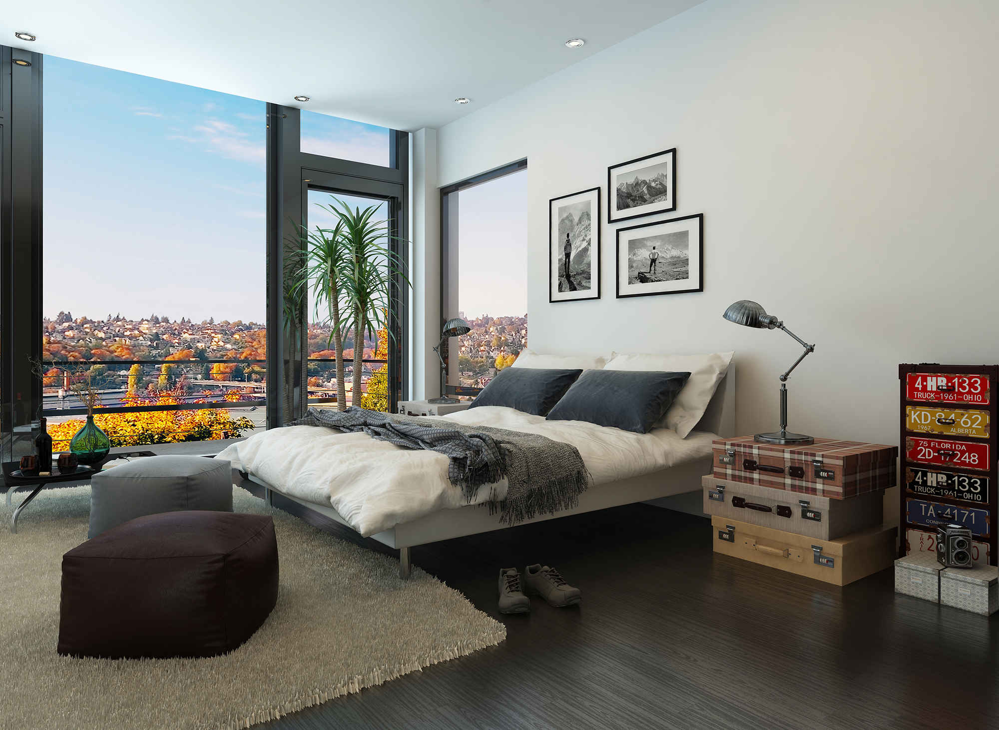 5 Ways To Make Your Small Bedroom Feel Bigger | HuffPost on Guys Small Bedroom Ideas  id=61633