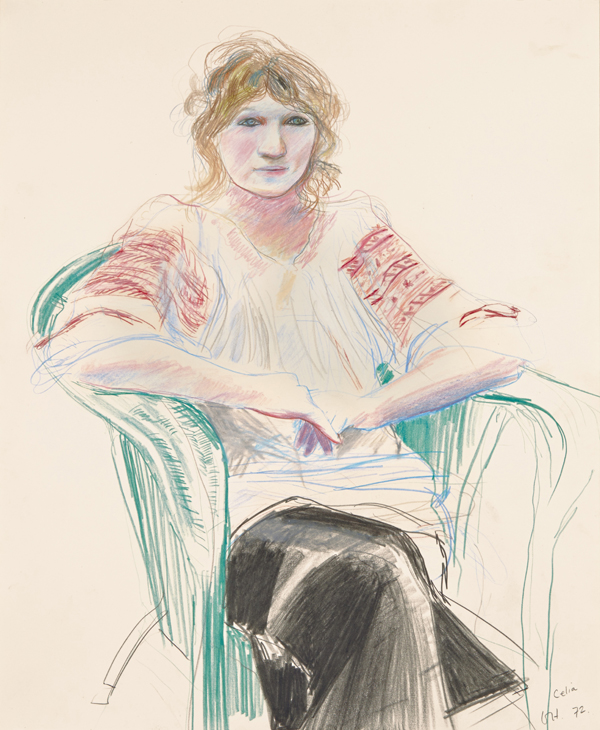David Hockney: Early Drawings | HuffPost UK