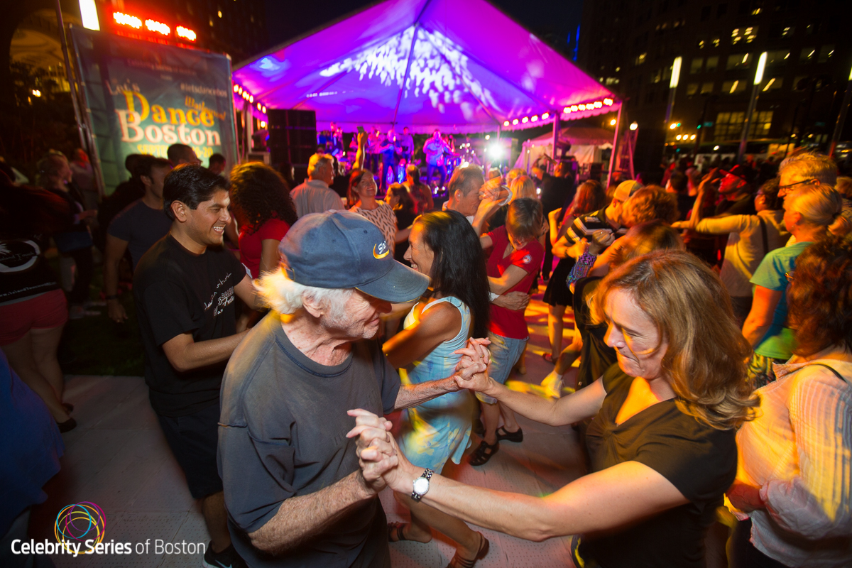 The Salsa Party of the Year on the Greenway With Jenna & Luis and ...
