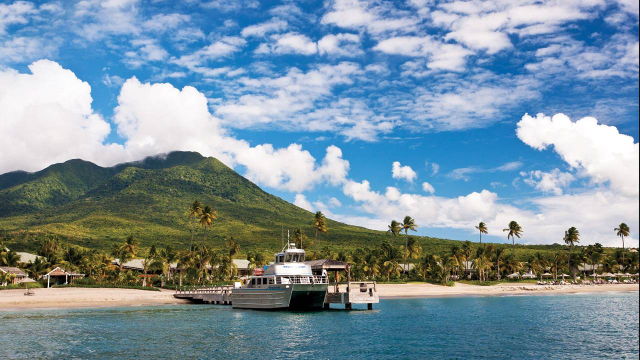 nevis maintains its caribbean charm by avoiding over-development