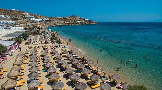 Related Articles Mykonos Accommodation Hotels Paradise View Hotel In Beach Greece Travel Tips Beaches