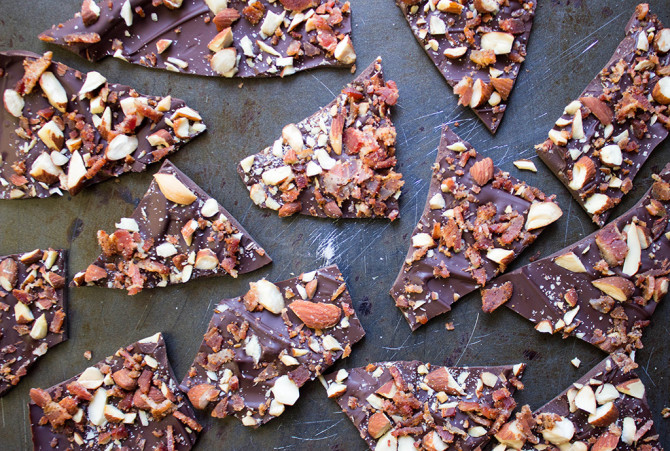 Make Chocolate Bacon Bark Only Using 3 Ingredients | The Huffington ...