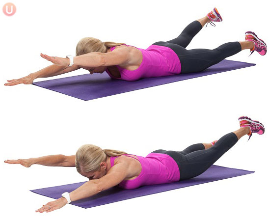 Beat Your Back Pain With 5 Exercises Huffpost