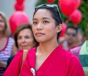 Courageous Pasadena Nurse, Allysha Almada, Is Getting a Voice at the White House