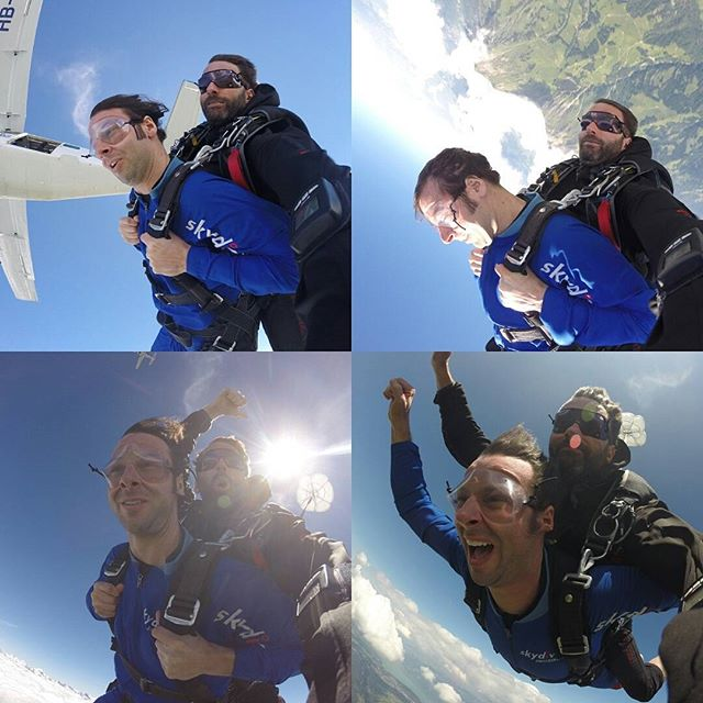 Skydiving the Swiss Alps vs  Stairway to Heaven   HuffPost Life